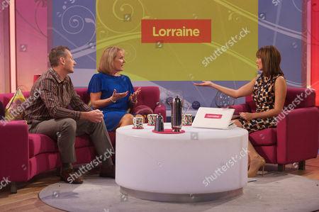Doug Young and Christina Young with Carol Vorderman