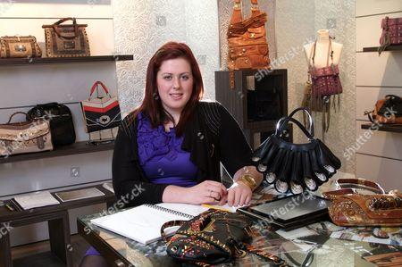 Lorna Nixon at work at Isabella Fiore
