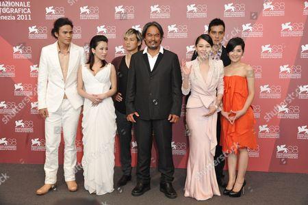 Landy Wen, Lo Mei-ling, Vivian Hsu, Umin Boya, Ando Masanobu, Da-Ching