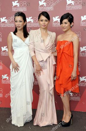 Landy Wen, Lo Mei-ling, Vivian Hsu