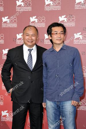 John Woo with director Te-Sheng Wei