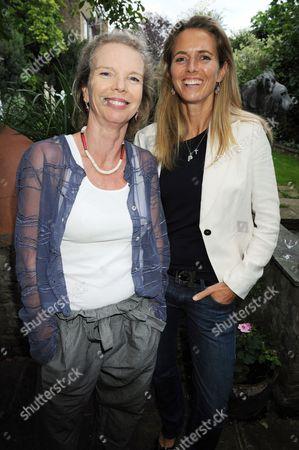 Vanessa Branson and Caroline Hutton