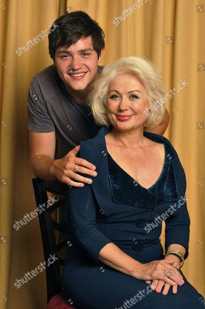 Hetty Baynes with son Rex