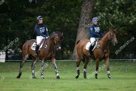 Oliver Townsend with Zara Phillips on High Kingdom