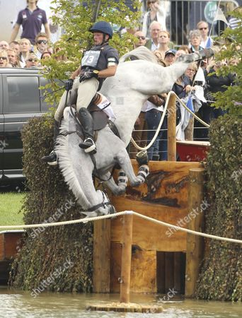 Michael Pollard on Icarus falls at fence 26