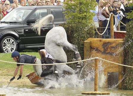 Editorial photo of Burghley Horse Trials, Stamford, Lincolnshire, Britain - 03 Sep 2011