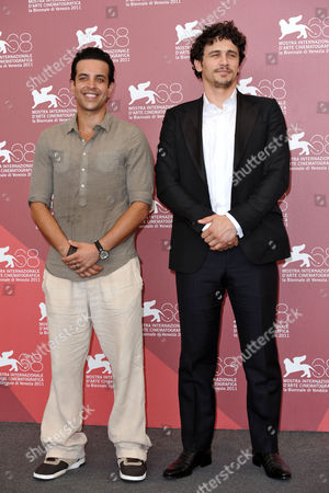 Stock Image of Val Lauren and James Franco