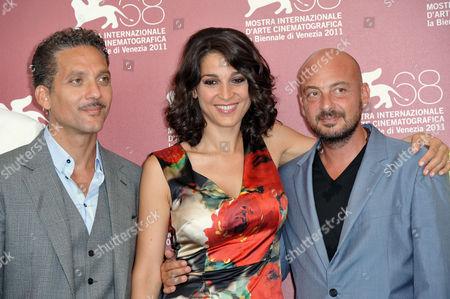 Giuseppe Fiorello, Donatella Finocchiaro, Emanuele Crialese