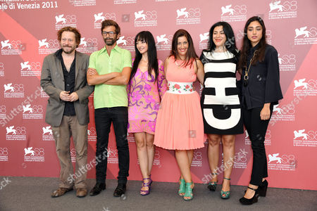 Mathieu Amalric, Maria De Medeiros, Rona Hartner, Marjane Satrapi, Golshifteh Farahani with guests