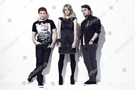 Billy Lunn, Charlotte Cooper and Josh Morgan
