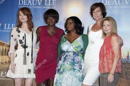 Emma Stone, Viola Davis, Octavia Spencer, Allison Janney and Kathryn Stockett