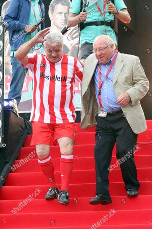 Kevin Keegan and Uwe Seeler