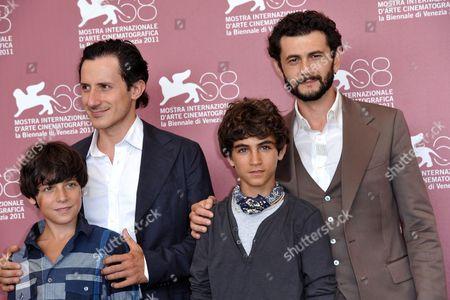 Michele Alhaique, Vinicio Marchioni, Luigi Fedele, Francesco Fedele