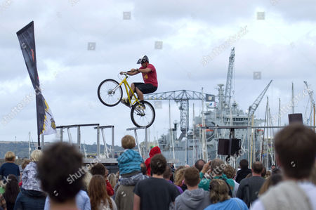 Editorial picture of Animal BMX Tour, Falmouth, Cornwall, Britain - 09 Aug 2011