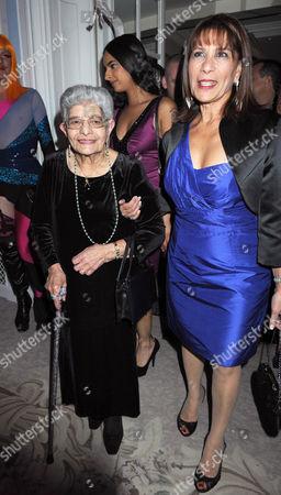 Stock Photo of Freddie Mercury's mother Jer Bulsara and Kashmira Bulsara (sister)