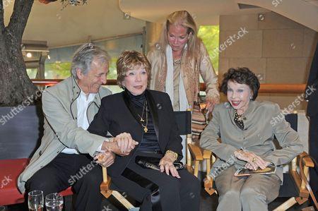 Costa-Gavras, Shirley MacLaine, Alexandra Stewart and Leslie Caron