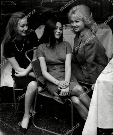 Marina Vlady (left) Nancy Kwan (centre) And Mylene Demongeot Actresses Pictured At The Odeon Leicester Square For The Royal Film Performance