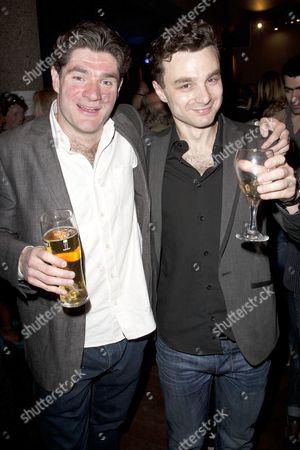 Harry Peacock (Money Blatt) and Ilan Goodman (Prince Silver)