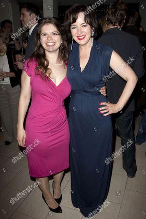 Eleanor Lloyd (Producer) and Amanda Drew (Anne Butley)