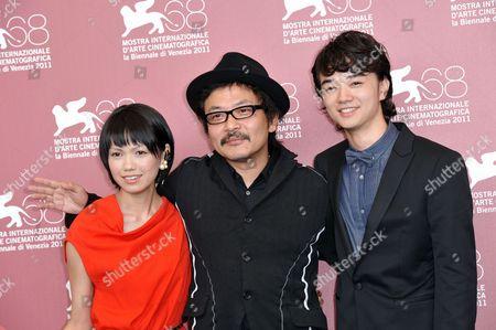 Editorial photo of 'Himizu' film photocall, 68th Venice Film Festival, Venice, Italy - 06 Sep 2011
