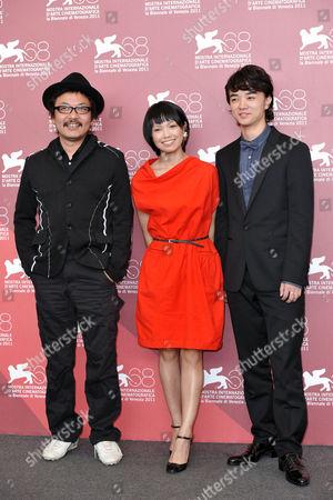 Editorial image of 'Himizu' film photocall, 68th Venice Film Festival, Venice, Italy - 06 Sep 2011