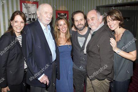 Sybil Kretzmer, Herbert Kretzmer (Lyrics), Sarah Boe, Alfie Boe (Jean Valjean), Claude-Michel Schonberg (Music) and Charlotte Schonberg