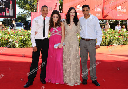 Stock Picture of Solomon Glave, Shannon Beer, Kaya Scodelario and James Howson