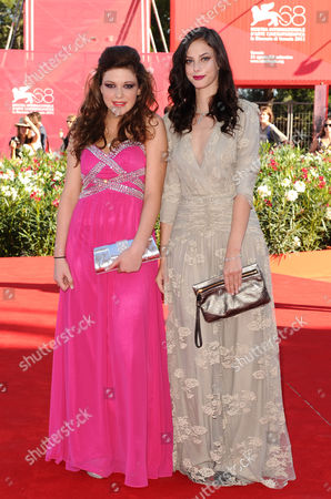 Stock Picture of Shannon Beer and Kaya Scodelario