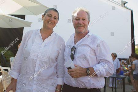 Stock Image of Nadia El Fani and Nicolas Philibert