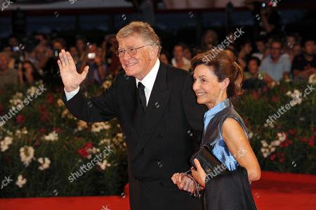 Stock Picture of Ermanno Olmi and Loredana Detto