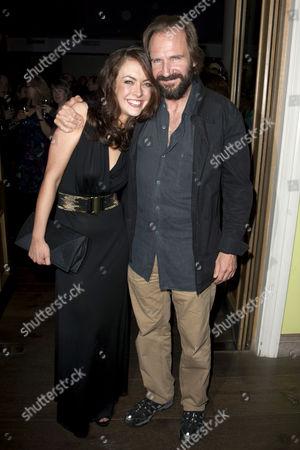 Elisabeth Hopper and Ralph Fiennes