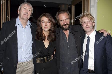 Nicholas Lyndhurst, Elisabeth Hopper, Ralph Fiennes and Michael Benz