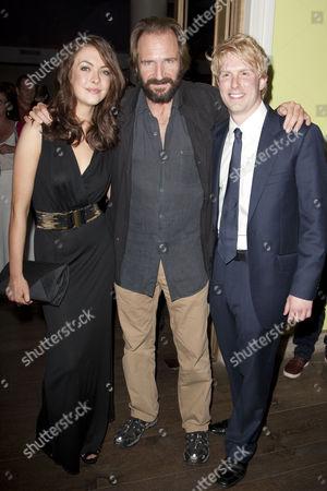 Elisabeth Hopper, Ralph Fiennes and Michael Benz