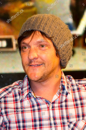 Editorial picture of Chris Lilley signing DVD copies of his 'Angry Boys' comedy TV series, HMV Oxford Circus, London, Britain - 06 Sep 2011