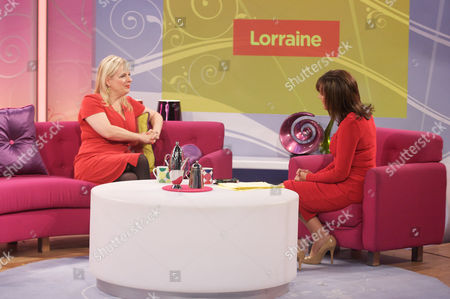 Allison Pearson and Lorraine Kelly