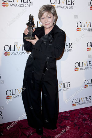 Hildegard Bechtler accepts the award for Best Costume Design for 'After the Dance'
