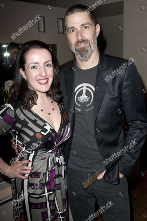 Emma Brunjes (General Manager) and Matthew Fox (Bobby)