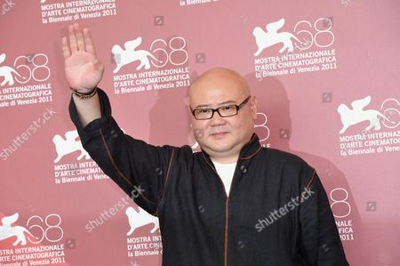 Stock Image of Director Shangjun Cai