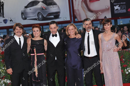 Stock Image of Denis Fasolo, Michela Cescon, Filippo Timi, Cristina Comencini, Thomas Trabacchi and Claudia Pandolfi