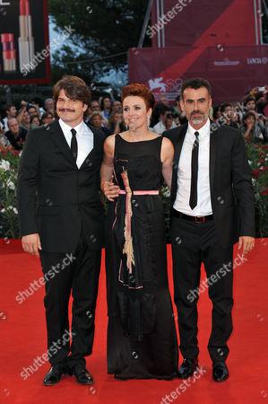 Denis Fasolo, Michela Cescon and Thomas Trabacchi