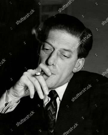 The Earl Of Harewood Smoking.
