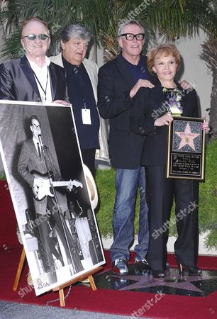 Maria Elena Holly, Peter Asher, Gary Busey, Phil Everly