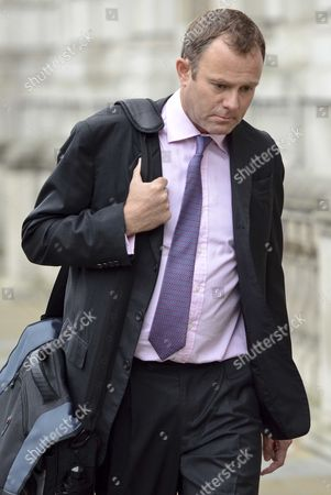 Home Office minister and Conservative MP for Arundel and South Downs, Nick Herbert arriving at the cabinet office this morning