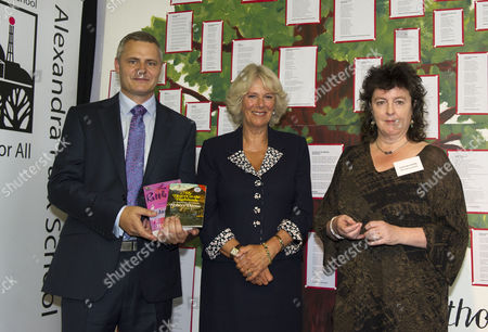 Editorial picture of Camilla Duchess of Cornwall visits Alexandra Park School in Haringey, London, Britain - 07 Sep 2011