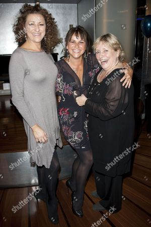 Kim Ismay (Tanya), Sally Ann Triplett (Donna Sheridan) and Joanna Monro (Rosie)
