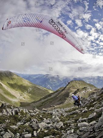 Editorial photo of Red Bull X-Alps - Jul 2011