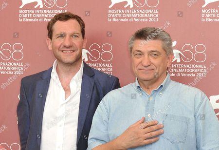 Johannes Zeiler and director Aleksandr Sokurov