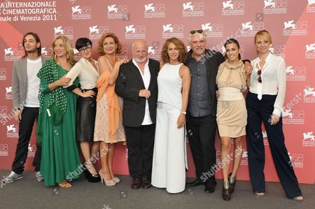 Editorial photo of 'Tutta Colpa Della Musica' film photocall, 68th Venice Film Festival, Venice, Italy - 08 Sep 2011