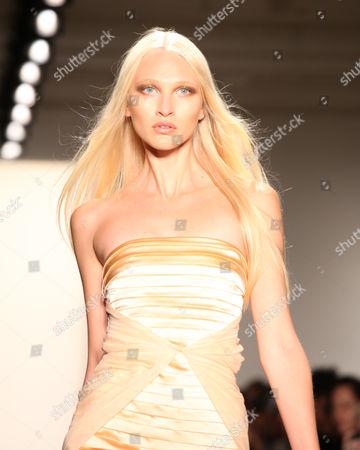 Editorial photo of Kevork Kiledjian Show, Sping 2012 Mercedes-Benz Fashion Week, New York, America - 08 Sep 2011
