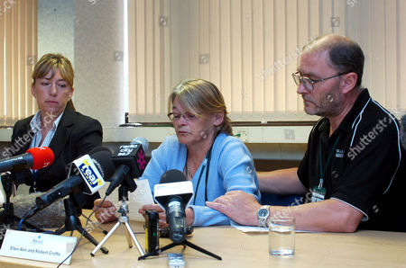 Ellen Ann and Robert Crofts, the parents of Robbie Crofts, 21, who has not been seen since his girlfriend Hayley Holmes, 17, was found dead at 7am on 29 Aug 2011 at Fort Perch Rock in New Brighton, Merseyside, after being found washed up on the beach by a dog walker. Police confirmed that a post mortem examination revealed she died as a result of drowning and her death is still being treated as 'unexplained'.  Hayley, a pupil at Upton Hall School, Wirral, was due to return to her studies next week for her AS-levels.  Robbie Crofts parents at a press conference, appealing for his return at Merseyside Police headquarters in Liverpool.
